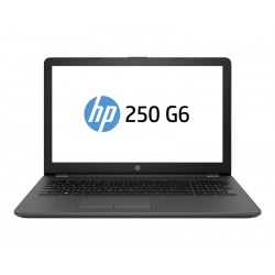 Notebook HP 250 G6 - Core i3 7020U / 2.3 GHz - Win 10 Home 64 bit - 4 GB RAM - 256 GB SSD -