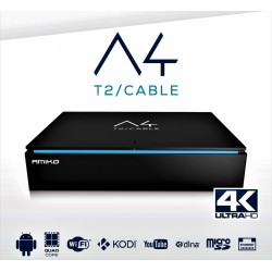 Decoder amiko A4 android Emulatore 4K con dvb cccam IPTV