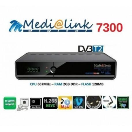 Decoder Medialink ML 7300 T2/C H.265