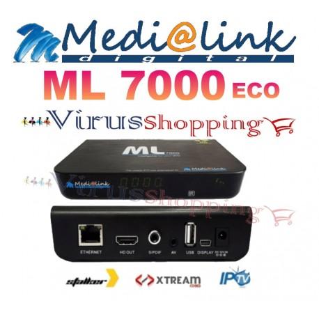 Decoder Medialink ML 7000 Emulatore IPTV