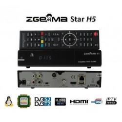 Decoder Zgemma H5  Combo H265 DvB  T2 S2