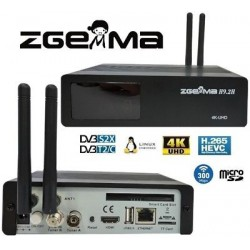 Decoder Zgemma H9 4k combo wi-fi integrato
