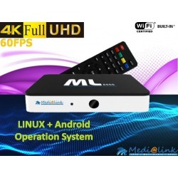 Decoder Medilalink ML 8000 android tv box
