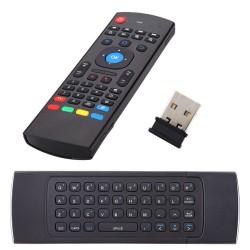 Telecomando per android box con tastiera e usb