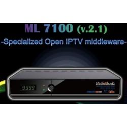 Decoder Medialink ML 7100 H265 DVB IPTV