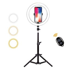 Lampada led con tre piedi Per video e selfi per Tik Tok asta 1.80 cm
