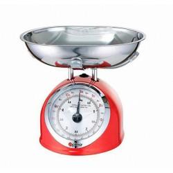 Bilancia pesa alimenti meccanica da cucina OPTIMA da 25 gr a 5Kg tara regolabile
