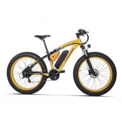 Bicicletta Elettrica con Pedalata assistita Mod. 26 None Folding Fat Ebike  48v  500watt