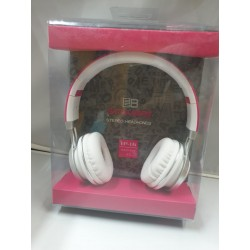 Cuffia Auricolare Hang star extra Bass per stereo e  Smartphone Rosa