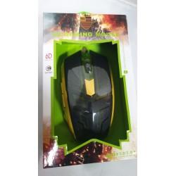 Mouse Gaming 6D ottico usb 3.0 illuminato con cavo