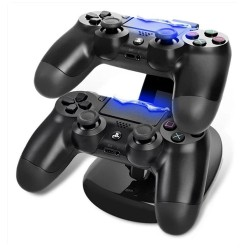 Station ricarica Controller PS4 due ingressi