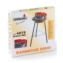 Barbecue Brace carbonella Ompagrill con griglia h 67cm diametro mod. 4075