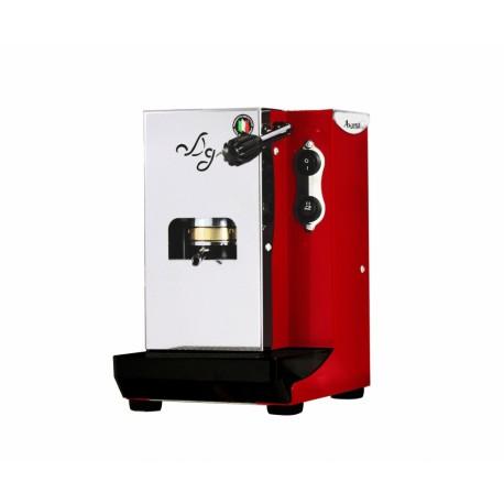 Macchina da Caffe semiprofessionale a cialde Aroma Plus Rossa