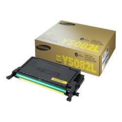 Toner Samsung CLT-Y5082L - Alta resa - giallo - originale