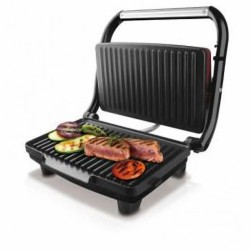 Bistecchiera a piastra Taurus 28cm 1500watt multi-grill basculante